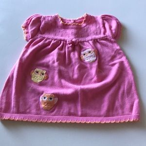Adorable Gymboree Owl Sweater Dress